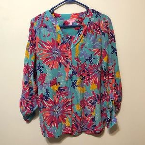Lilly Pulitzer Patterned Top